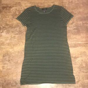 Forever 21 Striped T Shirt Dress